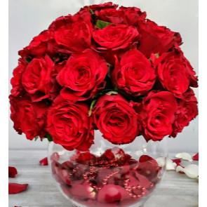 Masa Üstü SEVGİ Işığı Güllerin Güzel LAMBASI