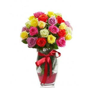 Aşkım - İki Düzine Renkli Güller