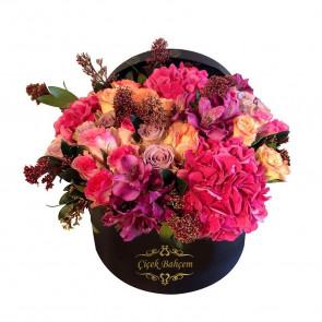 Baharın Kokusu - Yuvarlak Kutuda Kır Çiçekleri